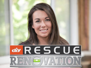 Kayleen McCabe, licensed contractor and host of DIY Network's Rescue Renovation.